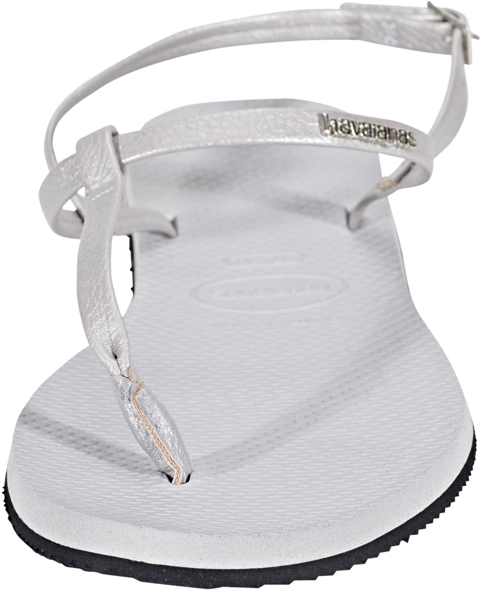 01e75acf818fe0 havaianas You Riviera Sandals Women Ice Grey